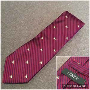 J.Crew 100% Silk Handmade in USA Tie